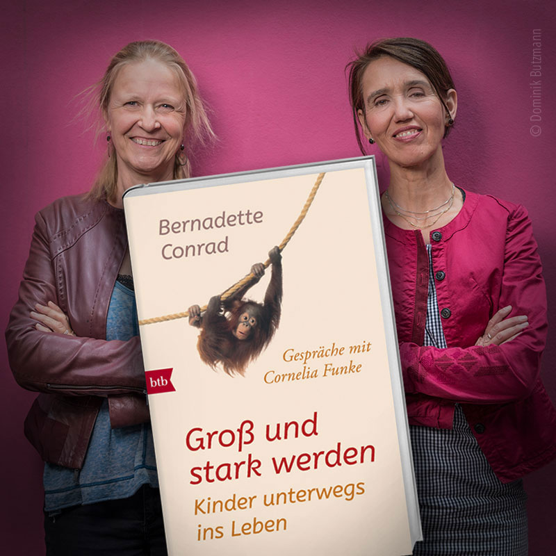 GROSS UND STARK WERDEN – Kinder unterwegs ins Leben. Gespräche mit Cornelia Funke